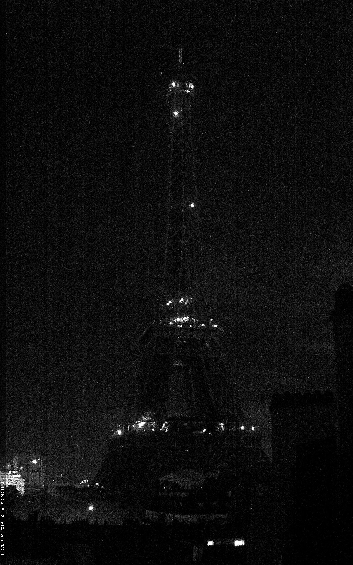 Webcam de Paris et de la Tour Eiffel météopassion